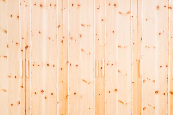Zirben Schlafzimmer Schrank Detail