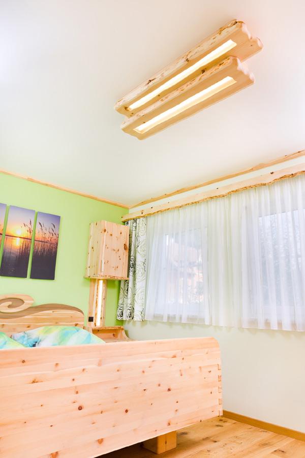 Zirben Schlafzimmer Bettbank